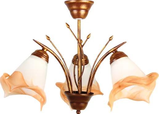 Závesné svietidlo Lampex 051/3 - Pôvodne 67.60 € = Zľava 26%