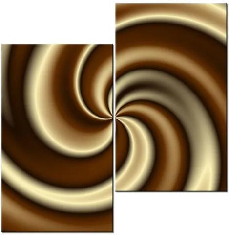 Tlačený obraz Čokoládové Cappuccino 60x60cm 996A_2J