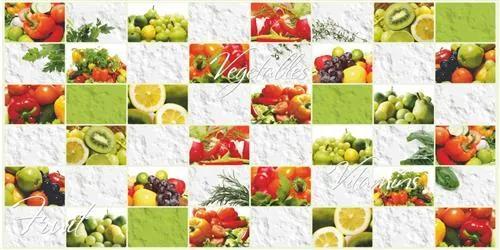 Obkladové 3D PVC panely TP10013293, rozmer 960 x 480 mm, ovocie a zelenina, GRACE