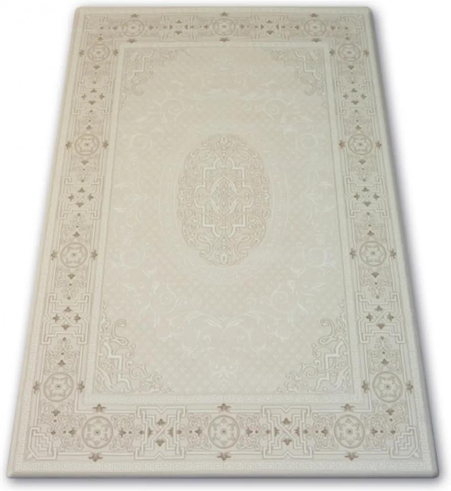 Luxusný kusový koberec akryl Franc krémový, Velikosti 160x230cm