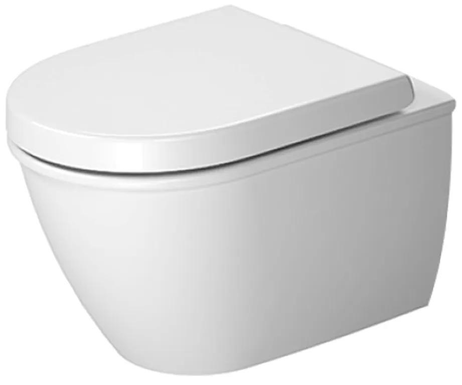 Duravit Darling New - Závesné WC Compact, 36 x 48,5 cm, biele 2549090000