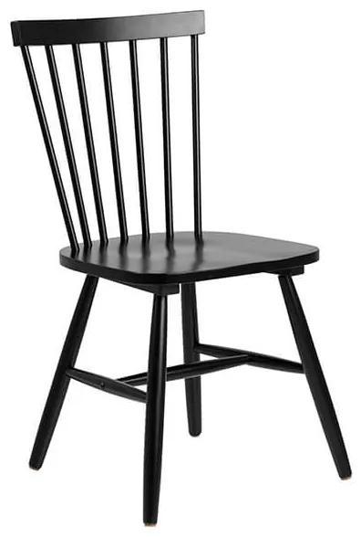 Riano jedálenská stolička čierna