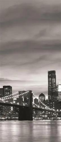 Vliesové fototapety, rozmer 91 x 211 cm, Brooklyn Bridge, IMPOL TRADE 011VE