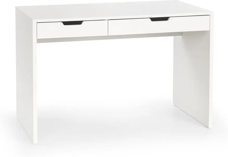 HALMAR Eskimo B-1 detský písací stolík biela / biely lesk