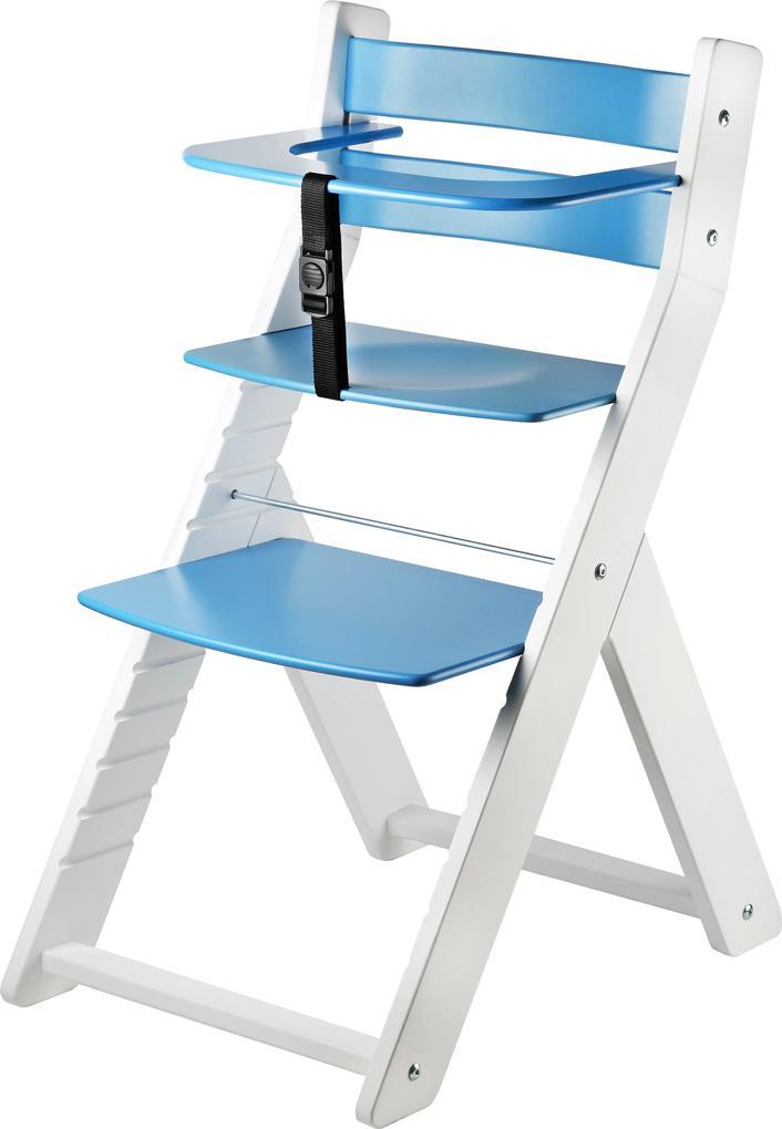 Wood Partner Detská rastúca stolička LUCA - modrá