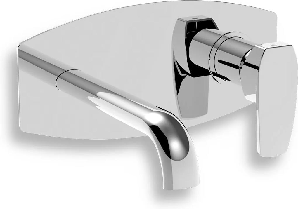 NOVASERVIS LA TORRE STUDIO - nástenná umývadlová batéria chróm 31200,0
