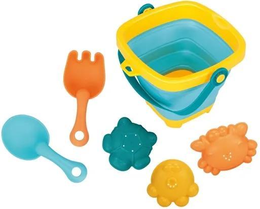 BAYO Nezaradené Skladacie vedierko a hračky do vody 5ks BAYO Podľa obrázku |