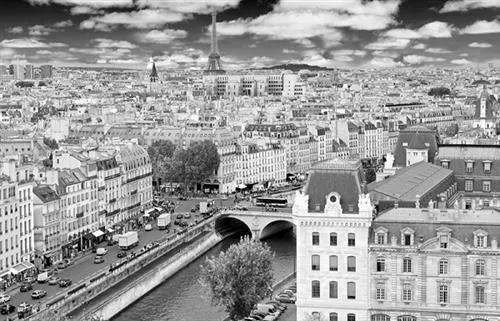 Luxusné vliesové fototapety, rozmer 418,5 cm x 270 cm, Paríž, P+S International CL09B