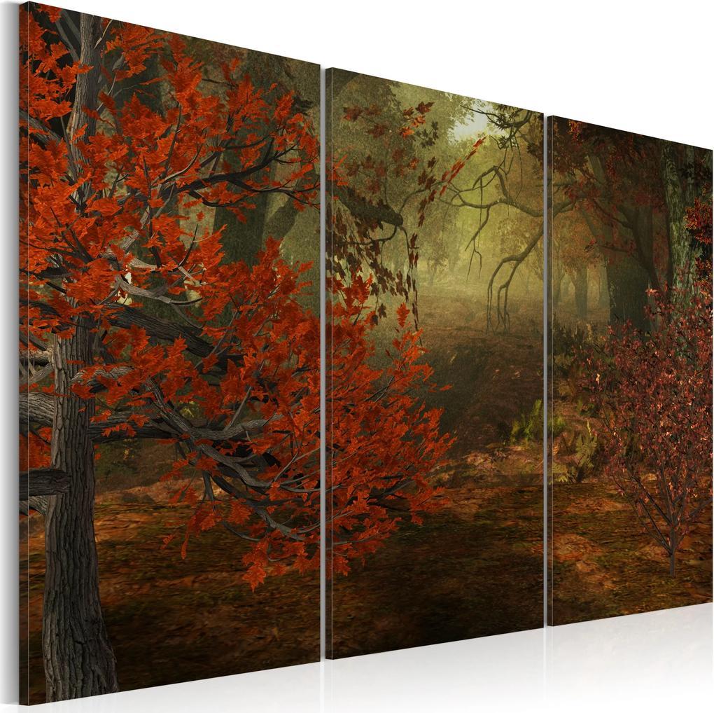 Obraz - Copse - triptych 60x40