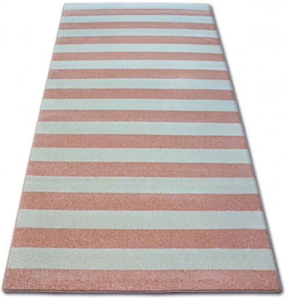 Kusový koberec Pruhy ružový, Velikosti 120x170cm