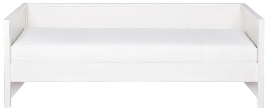 Biela posteľ/sofa WOOOD Nikki, 200 × 90 cm
