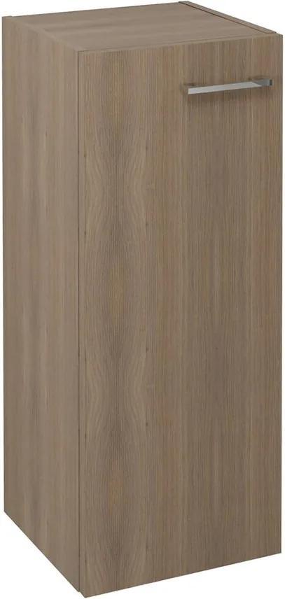 Espace ESP534LP skrinka 35x94x32 cm, 1x dvierka, ľavá/pravá, orech bruno