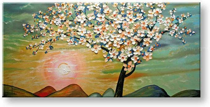 Ručne maľovaný obraz STROM BI0033E1