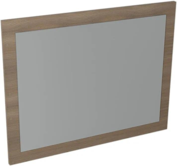 Largo LA713 zrkadlo v ráme 70x90x2,8 cm, orech bruno