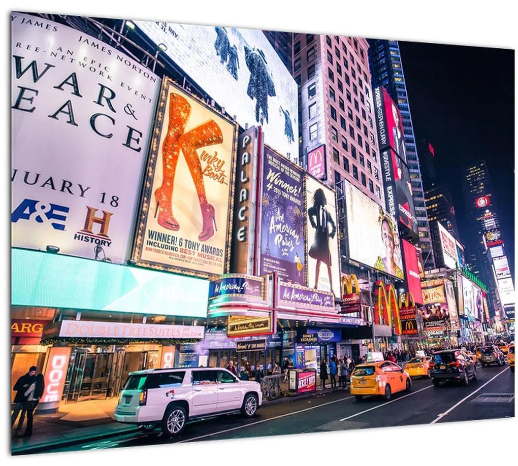 Obraz - New York Theater District (70x50 cm), 40 ďalších rozmerov