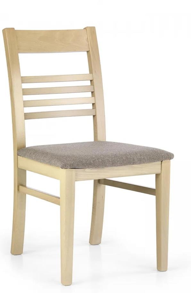 HALMAR Juliusz jedálenská stolička dub sonoma / hnedá