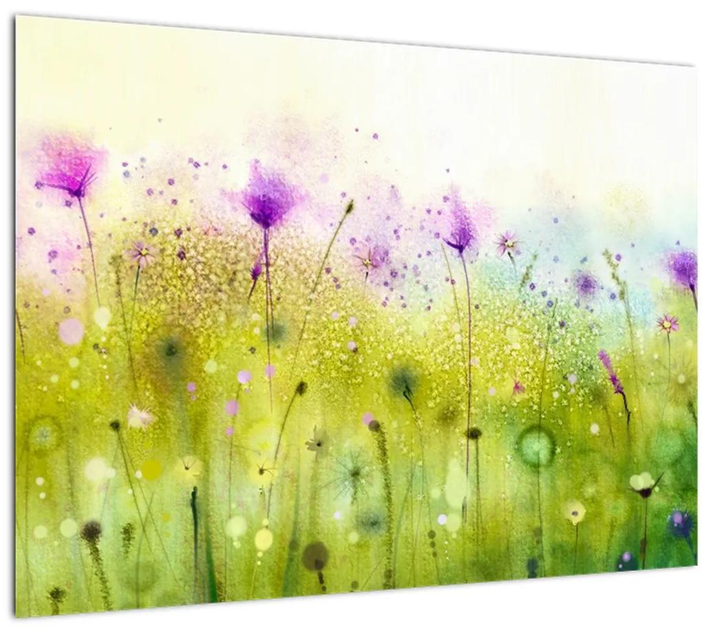 Obraz - Lúčne kvety (70x50 cm), 40 ďalších rozmerov