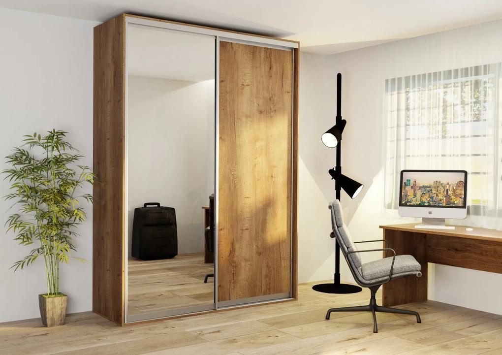 Wood Service Skriňa EX180 so zrkadlom 180 x 245 x 62