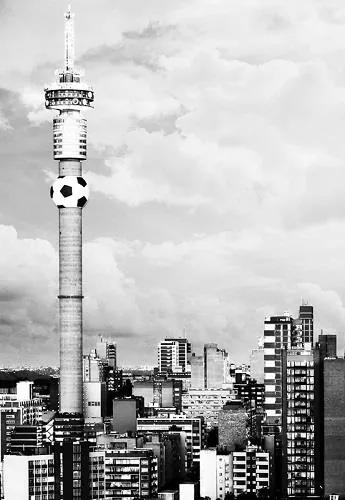 Luxusné vliesové fototapety, rozmer 186 cm x 270 cm, Johannesburg, P+S International CL78B