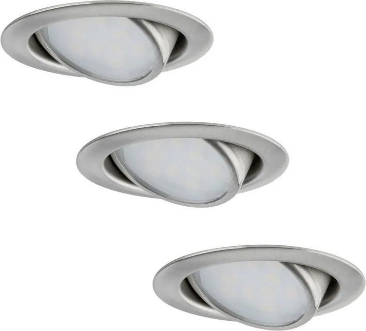 Paulmann Paulmann 92089 - SADA 3x LED Podhľadové svietidlo 3xLED/4,2W/230V W0684