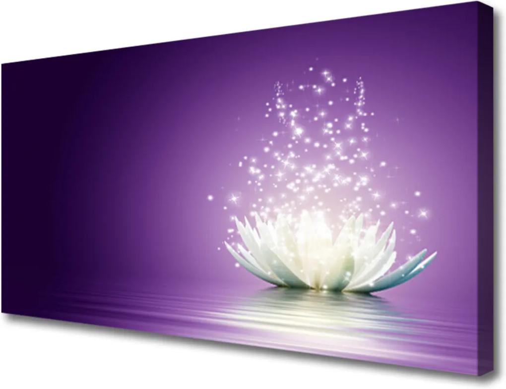 Obraz na plátně Sklenený Kvet Lotosu