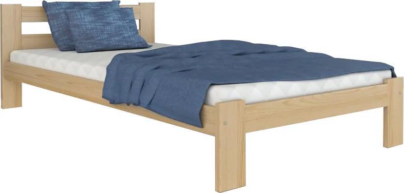 GL Jednolôžková masívna posteľ Marta Rozmer: 200x120
