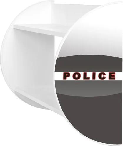 MAXMAX Detská polička POLÍCIA