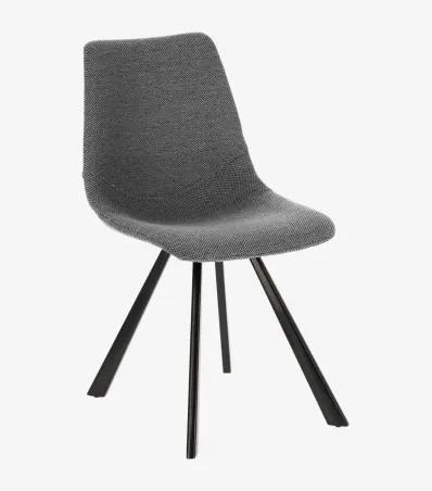 MENDY 2 stolička Sivá - svetlá