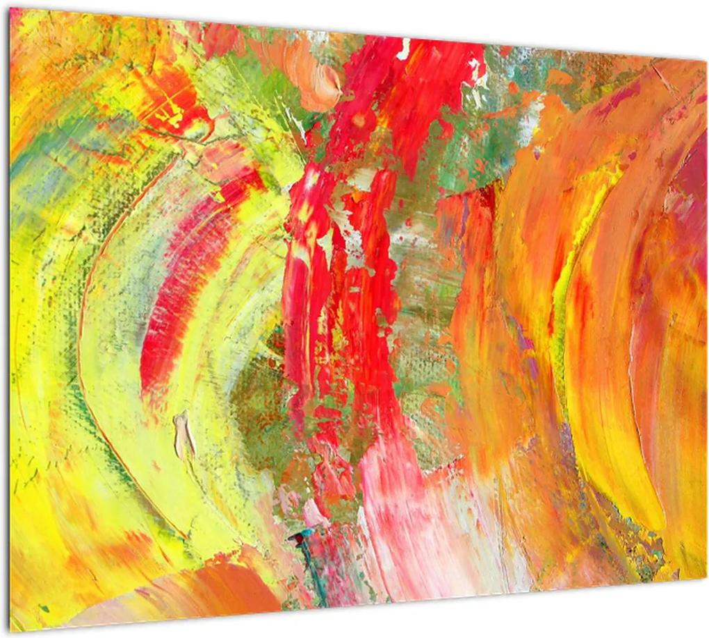 Obraz abstrakcie - maľba (70x50 cm), 40 ďalších rozmerov