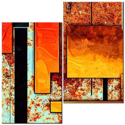 Tlačený obraz Lákavé umenie 60x60cm 1883A_2J