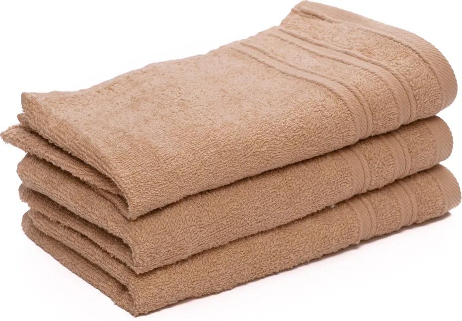 Malý uterák Bella 30 x 50 cm béžový