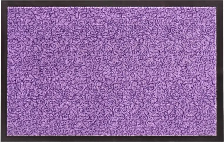 Zala Living - Hanse Home koberce Protiskluzová rohožka Smart 102666 Lila - 45x75 cm