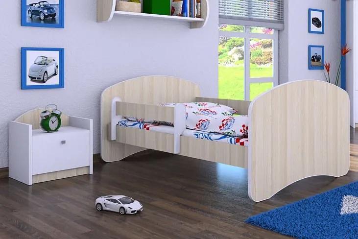 MAXMAX Detská posteľ 180x90 cm - AKÁT 180x90 NIE