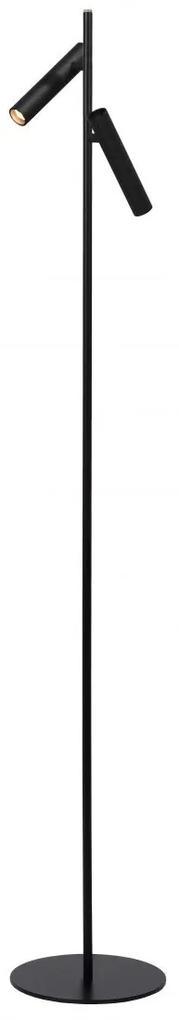 LUCIDE 79781/10/30 PHILON stojanové LED svietidlo/lampa 2x4.5W/380LM čierna