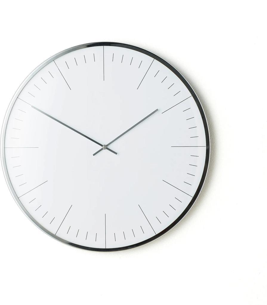 Nástenné hodiny s tichým chodom, Ø 400 mm