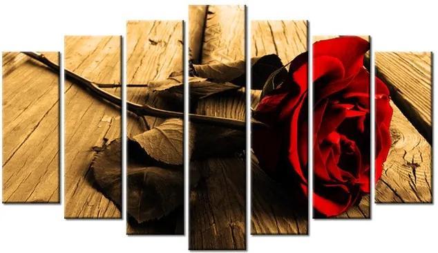Tlačený obraz Osamelá ruža 140x80cm 1237A_7B