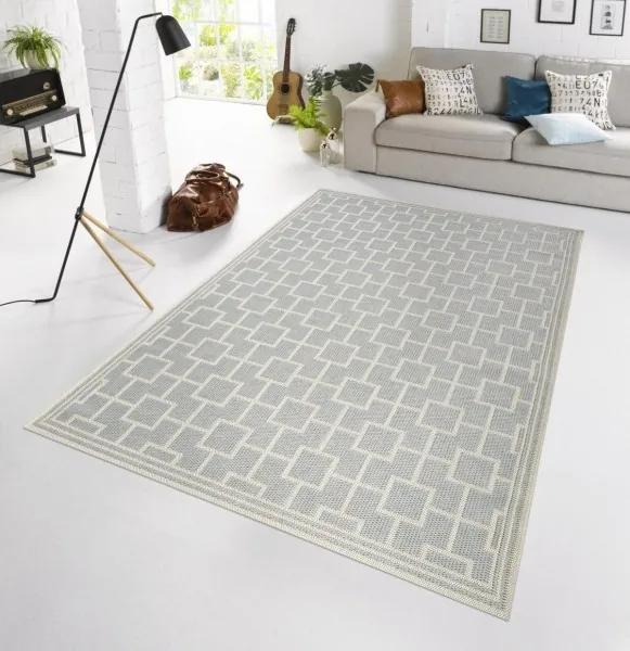 Bougari - Hanse Home koberce Kusový koberec BOTANY Bay Grau 102482 - venkovní (outdoor) - 115x165 cm