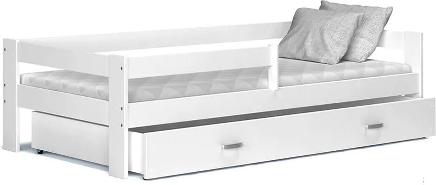 GL Detská posteľ Harry 190x80 Biela Color
