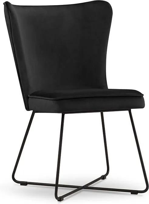 MICADONI HOME Zamatová stolička Celestine