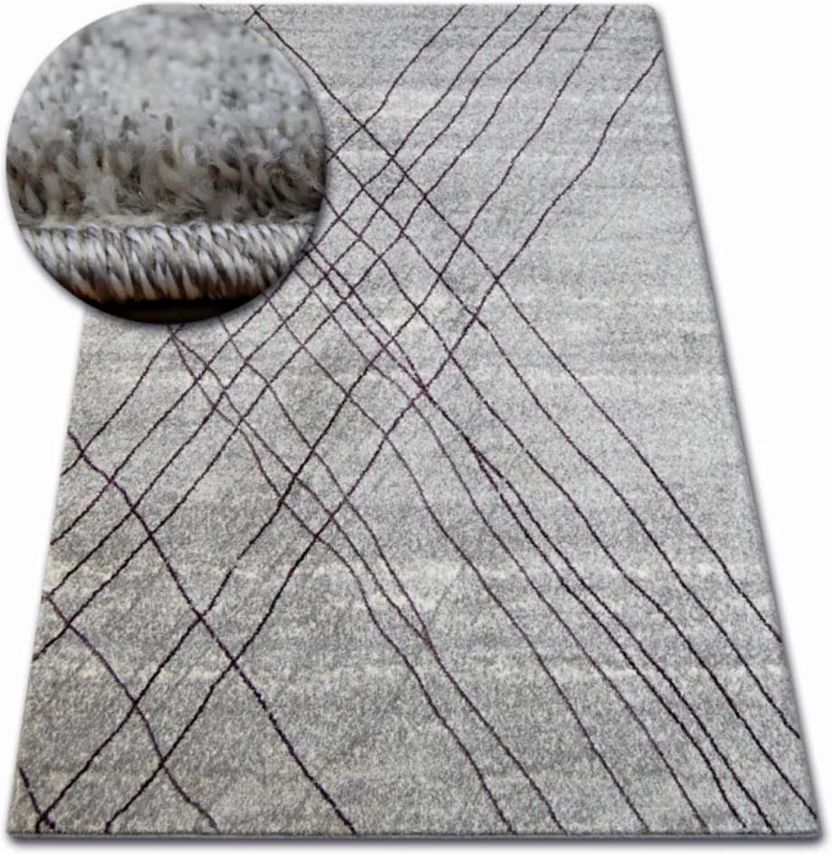 Kusový koberec Sisa svetlo sivý, Velikosti 200x290cm