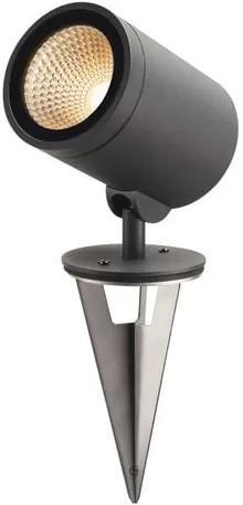 Vonkajšie svietidlo s bodcom do zeme SLV HELIA LED 3000K antracit 228555