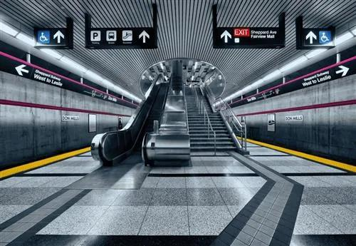 Papierové fototapety Subway, rozmer 368 cm x 254 cm, fototapety KOMAR 8-996
