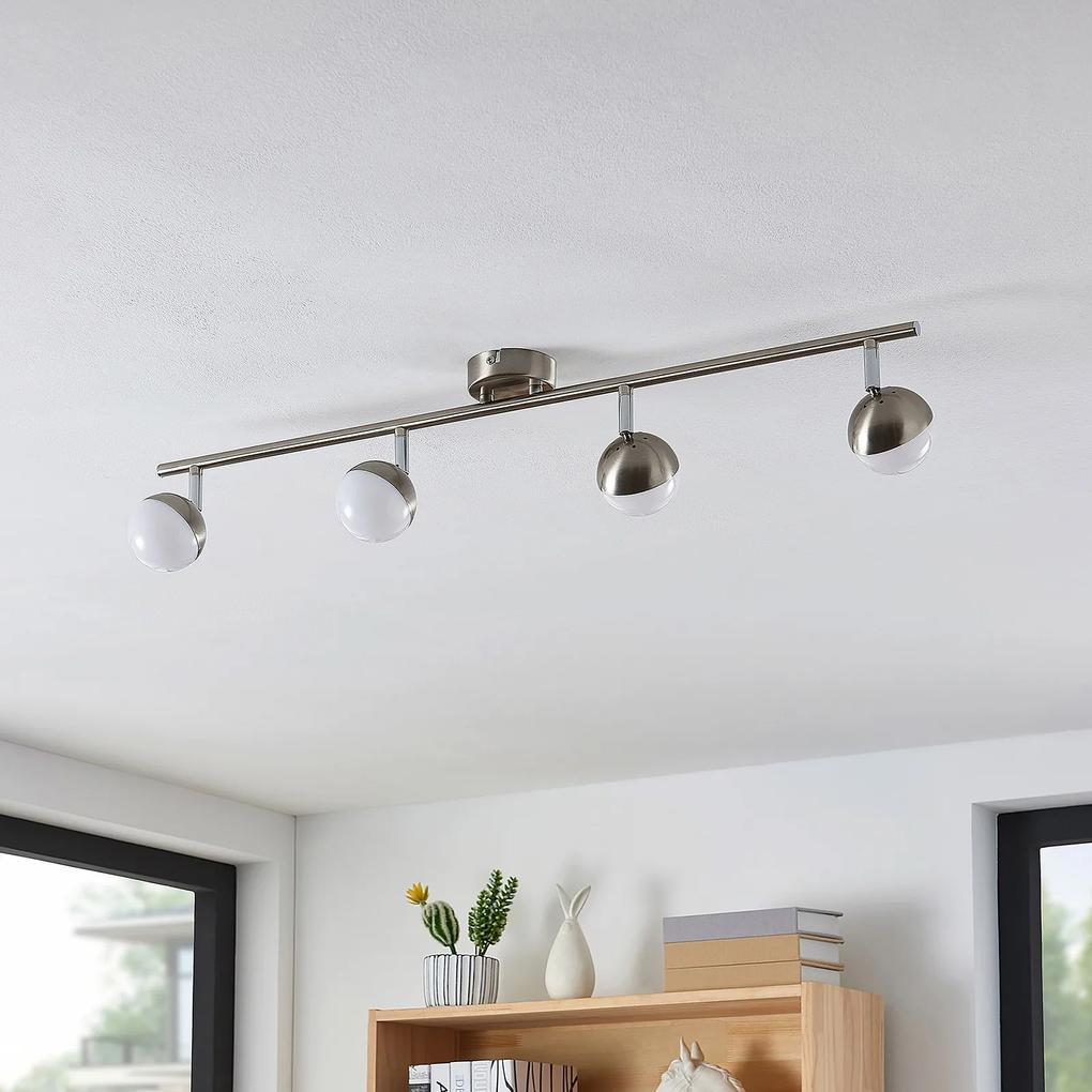 Lindby Lientje stropné LED svietidlo, 4-plameňové