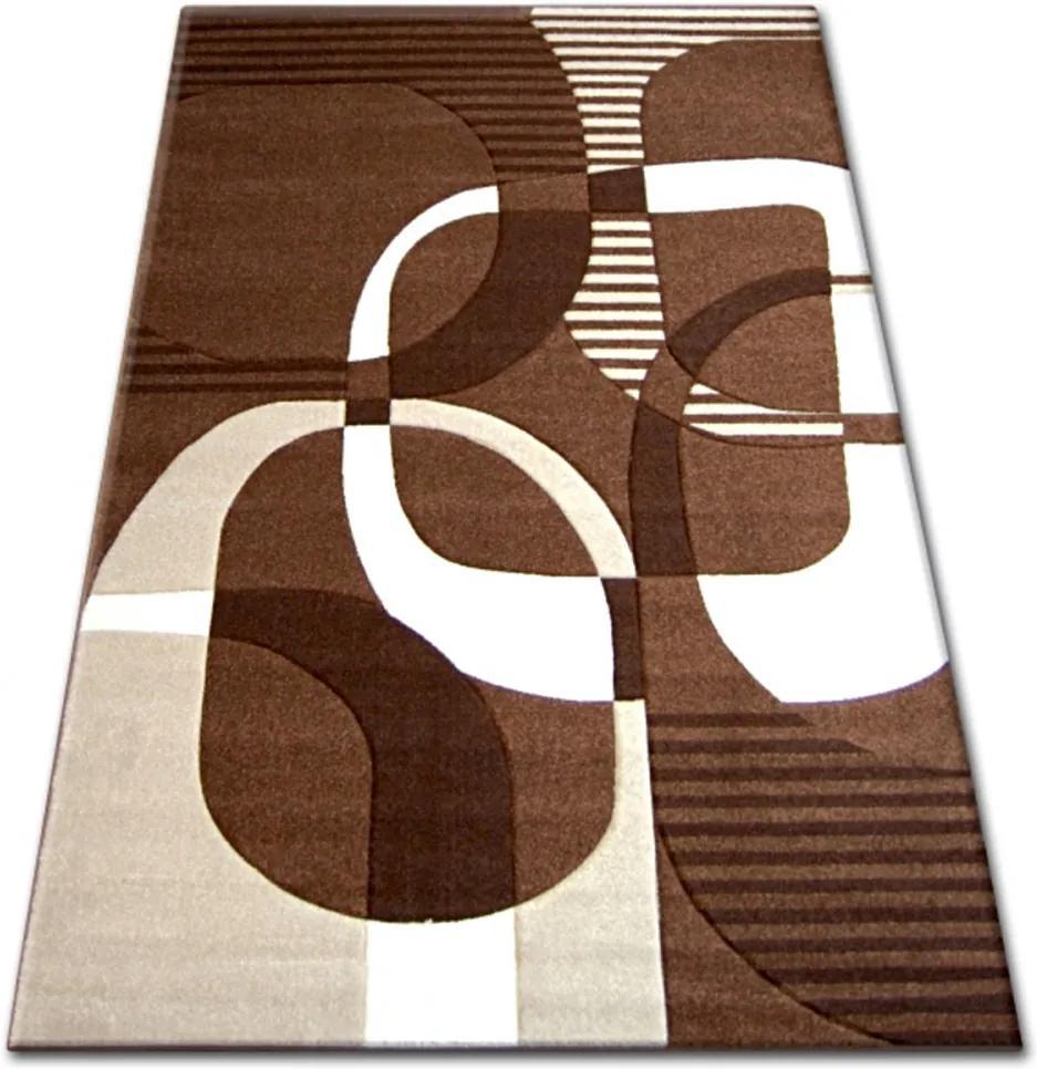 Kusový koberec Etel hnedý, Velikosti 240x330cm