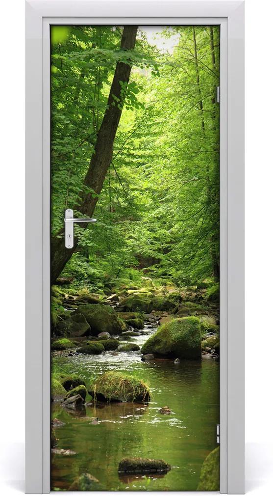 Fototapeta na dveře Řeka v lese