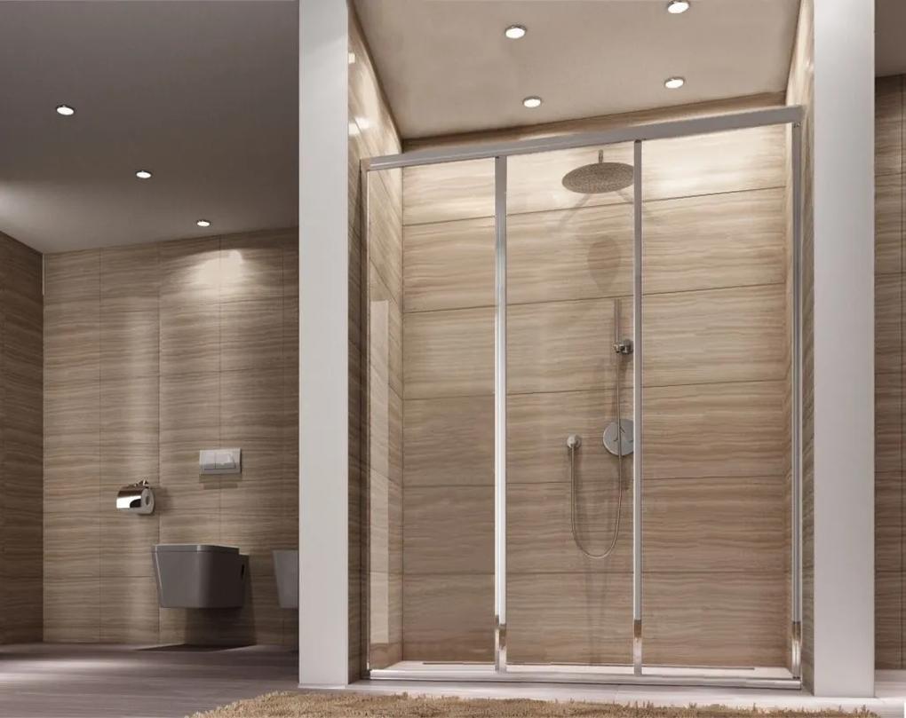 MAXMAX Sprchové dvere ALEX 120 cm
