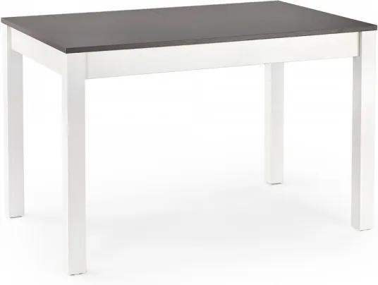Jedálenský stôl Maurycy orech / biela