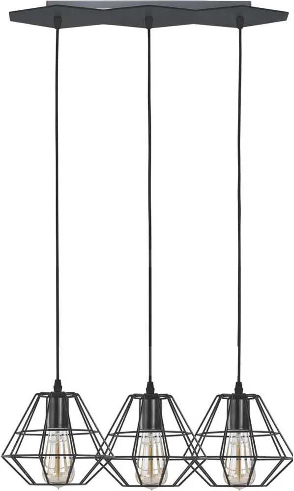 TK Lighting DIAMOND BLACK 846