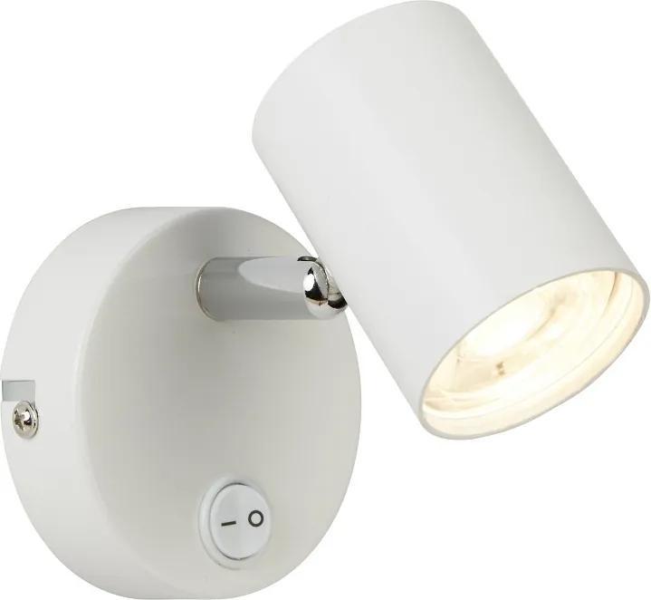 Searchlight 3171WH ROLLO nástenné svietidlo LED 1x4W 350 lm