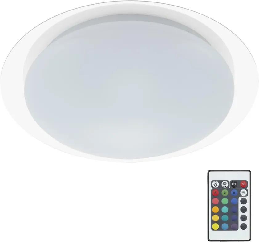 Briloner Briloner 3493-016 - LED RGB Stmievateľné stropné svietidlo 1xLED/12W/230V + diaľkové ovládanie IP44 BL0328
